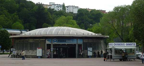 Anoeta Train Station