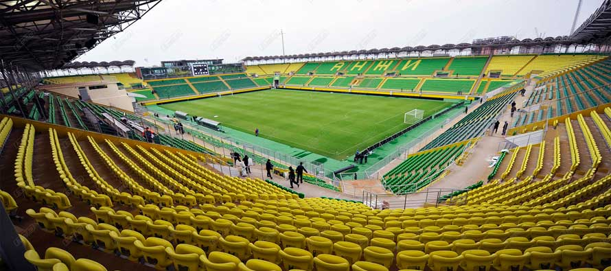 Panoramic view of Anzhi Arena