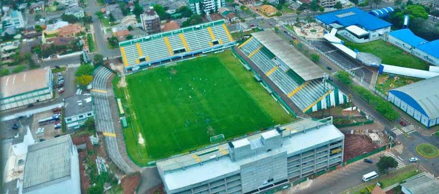 Aerial view of Arena Conda