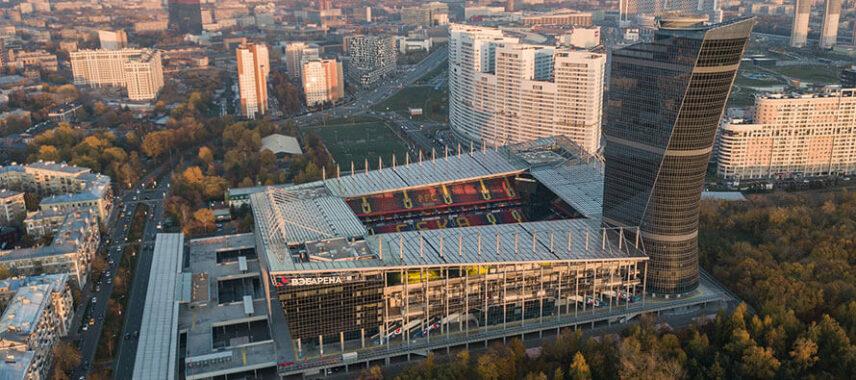ARENA CSKA aerial view