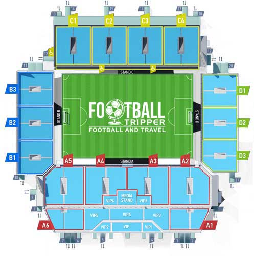 Arena Khimki Moscow Seating Plan