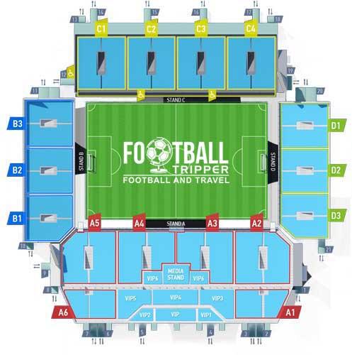 Arena Khimki Moscow Seating Plan