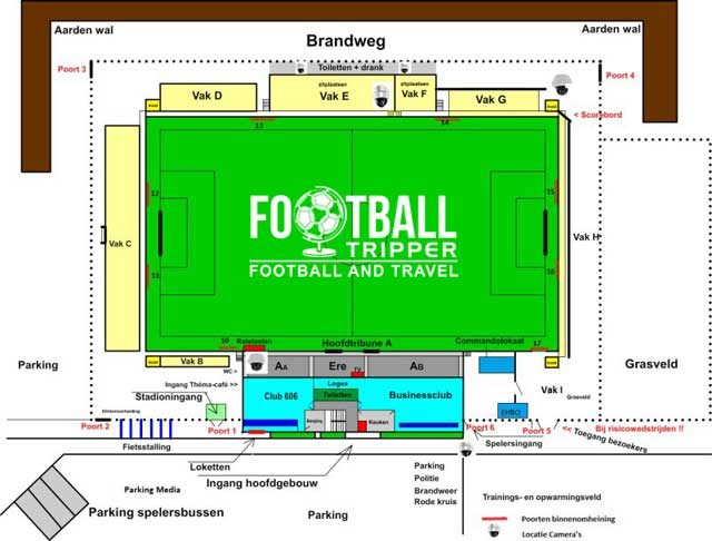 Armand Melis Stadium Seating map