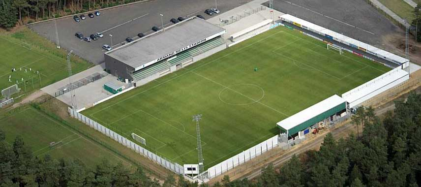 Aerial view of Armand Melisstadion