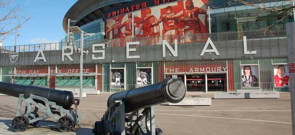 Arsenal's club shop