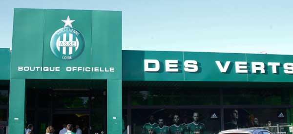 Exterior of As Saint etienne club shop