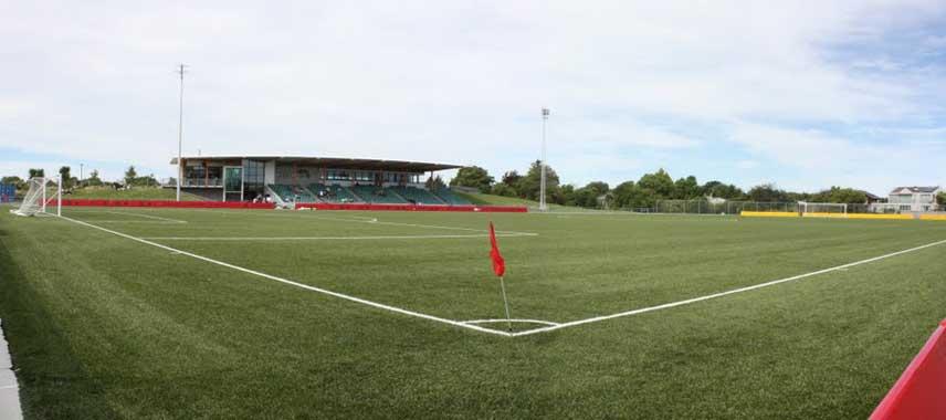 ASB English park pitch corner flag