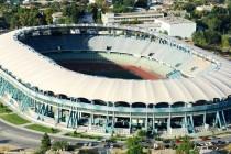 Aerial view of Ashgabat Stadium