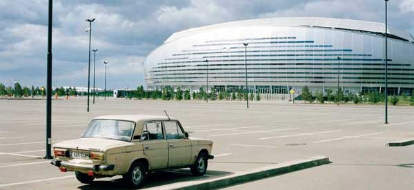 Parking at Astana Arena