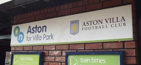 Aston Villa Railway Station