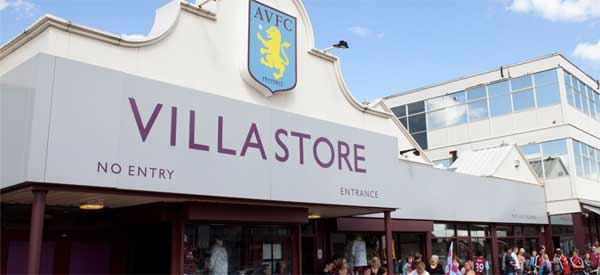 The Villa Store in all its glory.