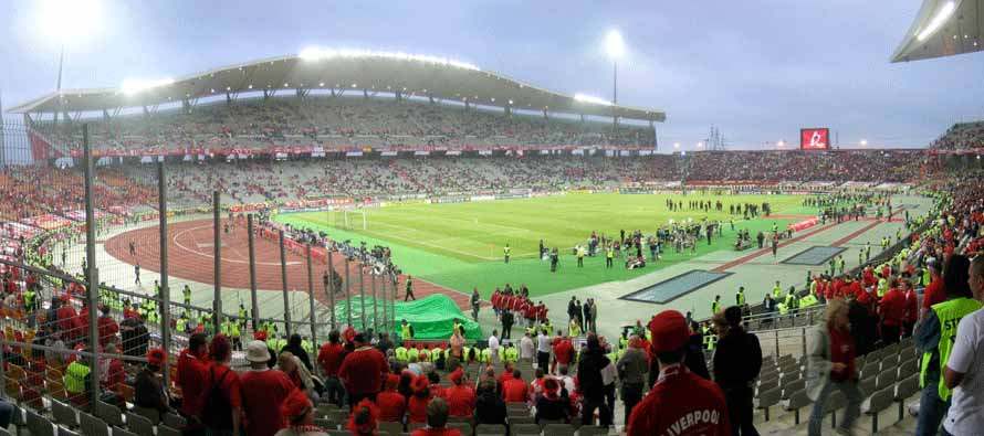 inside packed ataturk stadium