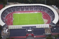Aerial view of Atletion Stadion nrgi