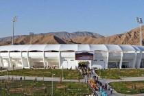 Exterior view of Balkanabat Stadium