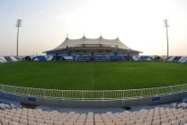 Main stand of Baniyas Stadium