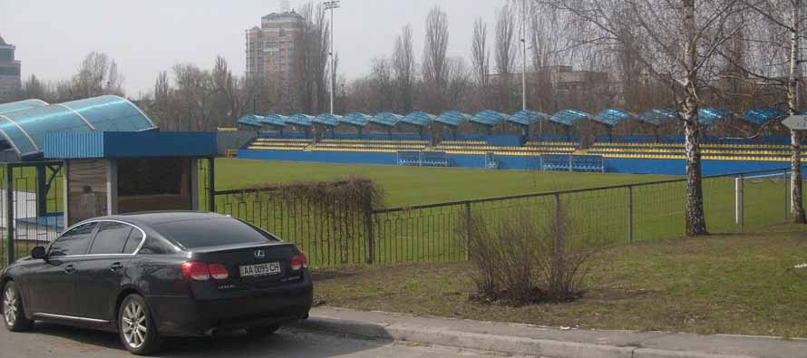 exterior view of bannikov stadium