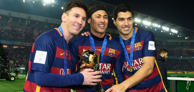 MSN - The trio that sends shivers down the spine of Spanish defenders!