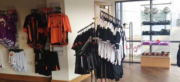 Barnet FC's Club shop