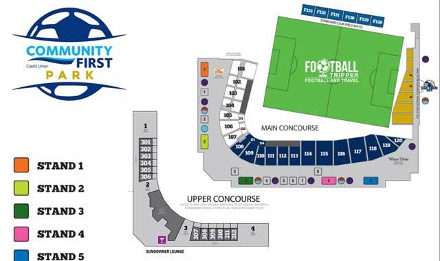 Jacksonville Baseball Grounds Seating Chart