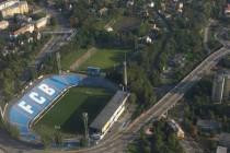 Aerial view of Bazaly Stadium