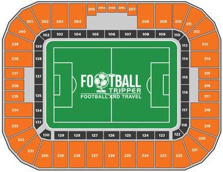 Bbva Comp Stadium Map
