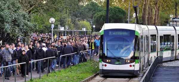 Stade Beaujoire Tram