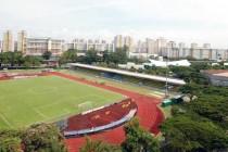 A view overlooking Bedok Stadium