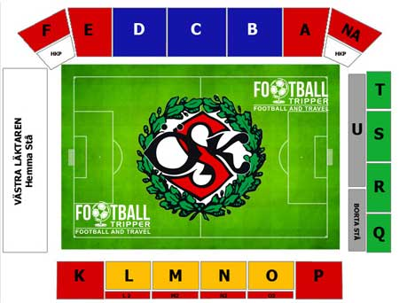 Behrn Arena seating chart