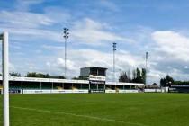 The main stand of Corbett Sports Stadium