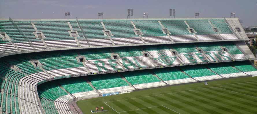 Inside Benito Villamarin Stadium