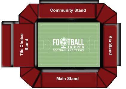 Bescot Stadium Seating Plan