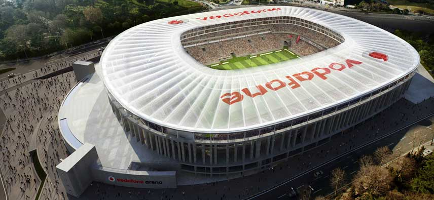 CGI Render of Besiktas Vodafone Arena