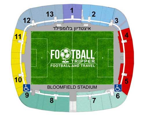 Bloomfield Stadum Seating Plan