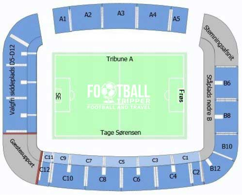 Bluewater Arena Seating Map
