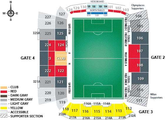 BMO Field Seating Plan