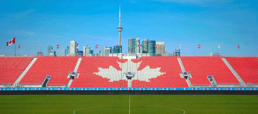 Torinto Skyine and BMOField main stand