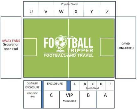 Bootham Crescent Stadium Plan