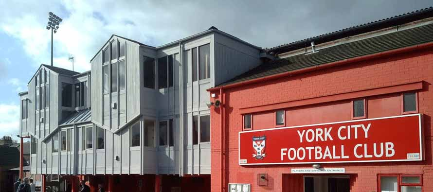 Bootham Crescent Main reception