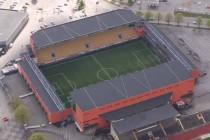 Aerial view of Boras Arena