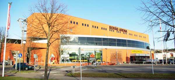 Exterior of Boras Arena