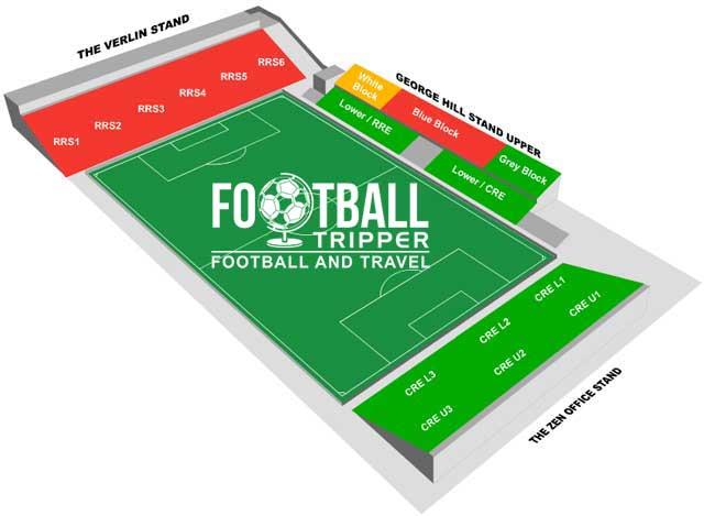 Boundary Park Stadium Seating Plan