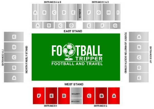 Brisbane Road Stadium Seating Plan
