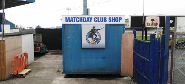 Bristol Rovers Club Shop