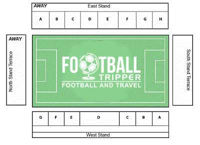 Broadfield Stadium Seating Plan