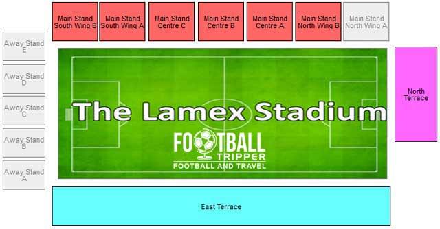 Broadhall Way Stadium Seating Plan