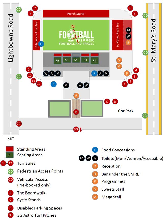 Broadhurst Park map FCUM