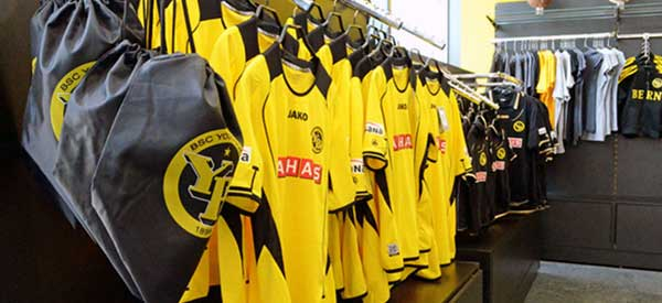 BSC Young Boys club shop