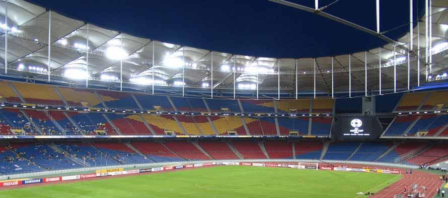 inside bukit jalil stadium