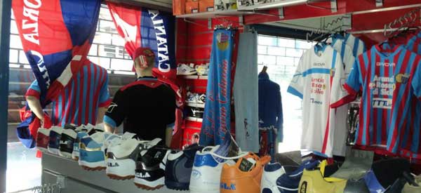 Catania Club Shop. Forza Merch!!!