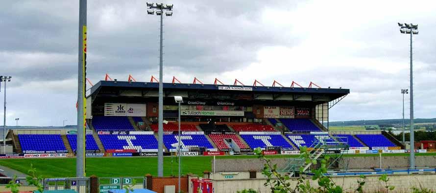 Main Stand Caledonian Stadium
